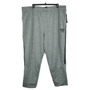 Tapout Mens Gray Athletic Jogger Sweat Pants 5XL
